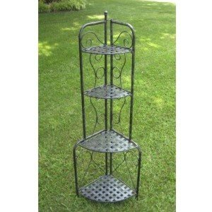 Strong and simple - the Mandalay Corner outdoor/indoor plant stand