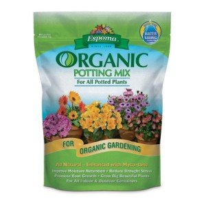 A high quality potting soil is essential for any actively growing indoor herb garden.