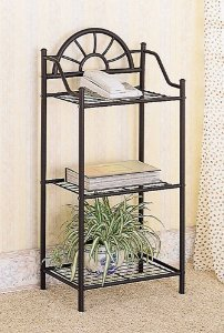 Coaster Garden Wrought Iron Plant Stand
